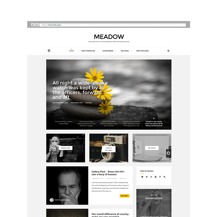 Quality & Fresh WordPress Themes - Themnific Themes