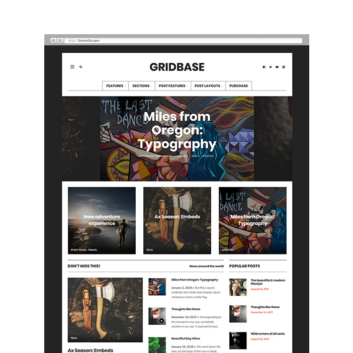 Quality Fresh Wordpress Themes Themnific Themes