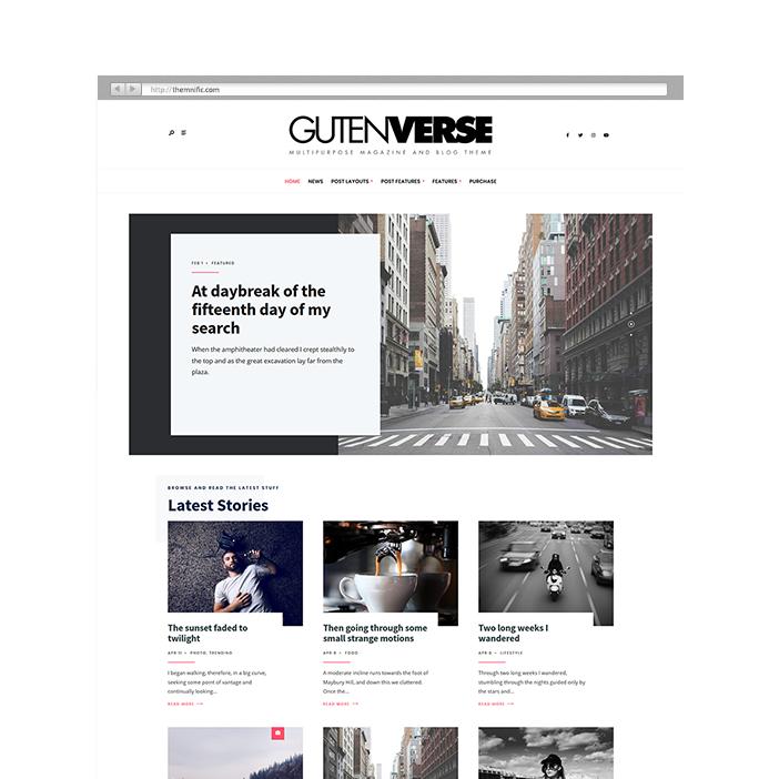 Quality & Fresh WordPress Themes Themnific Themes